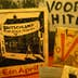 Anti-Hitler propoganda, display at the Verzetmuseum, Plantage Kerklaan 61a.