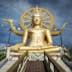 The Big Buddha at Wat Phra Yai temple