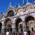 Facade of St Marks Basilica.