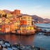 Boccadasse, a small sea district of Genoa, during the golden hour; Shutterstock ID 755753164; Your name (First / Last): Anna Tyler; GL account no.: 65050; Netsuite department name: Online Editorial; Full Product or Project name including edition: destination-image-southern-europe