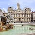 The Terreaux square with fountain in Lyon city, France; Shutterstock ID 281818262; Your name (First / Last): Daniel Fahey; GL account no.: 65050; Netsuite department name: Online Editorial; Full Product or Project name including edition: Lyon BiT