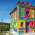 LA MORRA, ITALY - AUGUST 6: Cappella del Barolo, little colorful church by Sol Lewitt in a sunny summer day in Piedmont on August 6, 2016 in Barolo, Italy.; Shutterstock ID 1078216319; Your name (First / Last): Anna Tyler; GL account no.: 65050; Netsuite department name: Online Editorial; Full Product or Project name including edition: destination-image-southern-europe