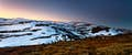 Snowy Mountains is walking remote alpine plains