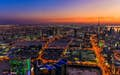 Kuwait City is suffused with colour