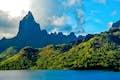 French Polynesia is mountainous beauty
