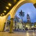 View of the Zocalo from the Town Hall, Veracruz, Mexico