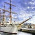 Sailing ship in Yokohama, Japan. She is known as the Nippon Maru.; Shutterstock ID 90362989; Your name (First / Last): Laura Crawford; GL account no.: 65050; Netsuite department name: Online Editorial; Full Product or Project name including edition: BiA images Yokohama, Takayama, Kamakura