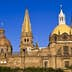 Mexico, Jalisco state, Guadalajara, the cathedral