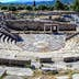 ruins of theater in ancient city of Messina, Peloponnes, Greece, HDR photo; Shutterstock ID 167758469; Your name (First / Last): Emma Sparks; GL account no.: 65050; Netsuite department name: Online Editorial; Full Product or Project name including edition: Best in Europe POI updates