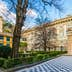 GENOA, ITALY, MARCH 13, 2016: View of a garden situated between palazzo bianco and palazzo doria tursi palace in Genoa, Italy; Shutterstock ID 483815368; Your name (First / Last): Anna Tyler; GL account no.: 65050; Netsuite department name: Online Editorial; Full Product or Project name including edition: destination-image-southern-europe