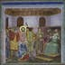 Jesus Before Caiaphas by Italian Artist Giotto di Bondone, fresco