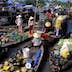 Floating market of Cai Rang, Can Tho, Mekong Delta, Vietnam, Indochina, Southeast Asia, Asia
