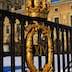 Symbol at gate of Kungliga Slottet (royal palace).