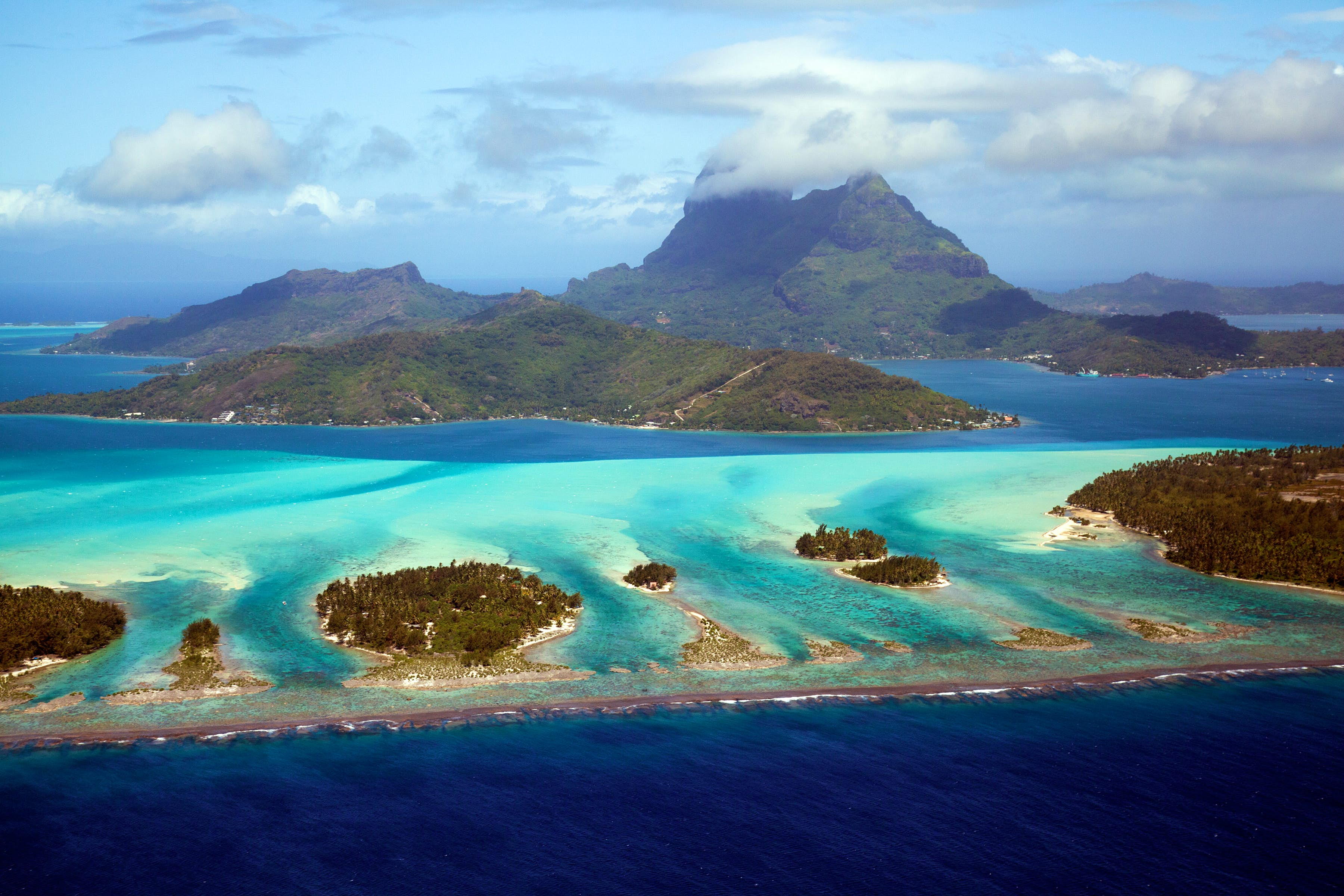 Bora Bora - Romantic destinations