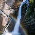 Rainbow On Savica Waterfall
