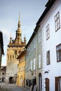 Sighişoara is enchanting medieval vibes