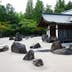 A view of the zen garden of the Kongobuji temple, Koyasan, Japan; Shutterstock ID 59794360; Your name (First / Last): Laura Crawford; GL account no.: 65050; Netsuite department name: Online Editorial; Full Product or Project name including edition: Kii Peninsula page online images for BiT