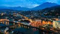 Lucerne is a spectacular setting