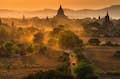 Myanmar (Burma) is centuries-old stupas