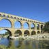 Pont du Gard roman bridge, France