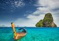 Krabi Province is dramatic karst islands and relaxed beaches