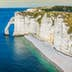 The famous cliffs at Etretat in Normandy, France; Shutterstock ID 1050732671