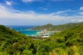 Tortola is towns tucked into coves