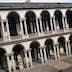 Courtyard of Pinacoteca di Brera.