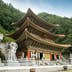 Chungcheongbuk-do, South Korea - August 29, 2016: Guinsa temple in Sobaek Mountains, South Korea; Shutterstock ID 480157171; Your name (First / Last): Megan Eaves; GL account no.: 65050; Netsuite department name: Online Editorial; Full Product or Project name including edition: Best in Travel - South Korea destination page POI images