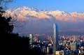 Santiago is a metropolis with a view