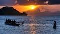 Guam is a balmy evening