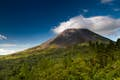 Central America is monumental volcanic peaks