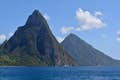 St Lucia is where mountains meet the sea