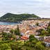 View of the city of Angra do Heroismo with Mount Brazil on Terceira Island; Shutterstock ID 146612801; Your name (First / Last): James Kay; GL account no.: 65050; Netsuite department name: Online Editorial; Full Product or Project name including edition: Azores destination page highlights