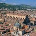 Europe, Italy, Bologna, historic town, elevated view