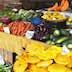 Market fruit, vegetables, Mahebourg, Mauritius