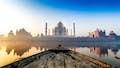 Agra is the majesty of the Taj