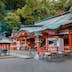 WAKAYAMA, JAPAN - NOVEMBER 19, 2015: Kumano Nachi Taisha Grand Shrine located in Nachi Katsuura Town, it's one the three most important Grand Shrines of Kumano region; Shutterstock ID 395348893; Your name (First / Last): Laura Crawford; GL account no.: 65050; Netsuite department name: Online Editorial; Full Product or Project name including edition: Kii Peninsula page online images for BiT
