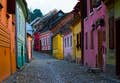 Romania is colourful cobblestoned towns