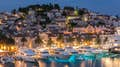 Hvar Town is glitz and glamour