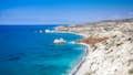 Cyprus is windswept desolate beaches