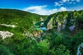 Plitvice Lakes National Park is verdant scenery and cascading waters