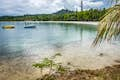 New Caledonia is gently lapping water