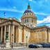 PARIS, FRANCE - JULY 08, 2016 : French Mausoleum of Great People of France - the Pantheon in Paris. France.; Shutterstock ID 573291478; Your name (First / Last): Daniel Fahey; GL account no.: 65050; Netsuite department name: Online Editorial; Full Product or Project name including edition: Panthéon POI