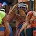 Flower Hmong women shopping Coc Ly market