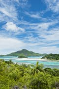 Mahé is awash with blues and greens