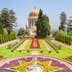 View on beautiful Bahai garden with Shrine of Bab. Haifa, Israel. ; Shutterstock ID 362608598; Your name (First / Last): Lauren Keith; GL account no.: 65050; Netsuite department name: Online Editorial; Full Product or Project name including edition: Haifa Guides app update