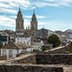Cathedral and Roman wall of Lugo. Galicia. Spain; Shutterstock ID 583773139; Your name (First / Last): Tom Stainer; GL account no.: 65050 ; Netsuite department name: Online Editorial ; Full Product or Project name including edition: Best in Europe 2017