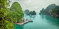 Cat Ba Island is caves, jungles and waterfalls