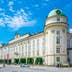 People are passing around the palace Hofburg in Innsbruck, Austria.; Shutterstock ID 550745233; Your name (First / Last): Daniel Fahey; GL account no.: 65050; Netsuite department name: Online Editorial; Full Product or Project name including edition: Hofburg Innsbruck POI